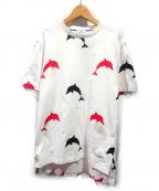 Thom Browne(トムブラウン)の古着「20SS プリントTシャツ」|ホワイト