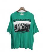 TAAKK(ターク)の古着「Tシャツ」 グリーン
