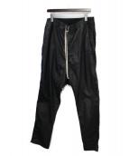 DRKSHDW(ダークシャドウ)の古着「コーテッドサルエルパンツ」|ブラック