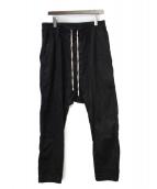 DRKSHDW(ダークシャドウ)の古着「サルエルパンツ」|ブラック