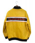 BLACK EYE PATCH(ブラックアイパッチ)の古着「ジャケット」|ブラック×イエロー