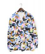 Christian Dior(クリスチャンディオール)の古着「20SS DIOR AND ALEXFOXTON ジャケット」|ホワイト