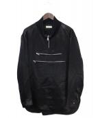 BALENCIAGA(バレンシアガ)の古着「ジッププルオーバー」|ブラック
