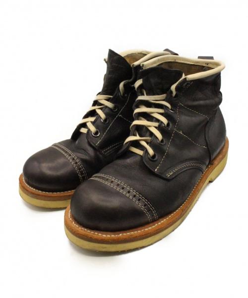 Hysteric Glamour(ヒステリックグラマ)Hysteric Glamour (ヒステリックグラマ) ブーツ ブラック サイズ:US9の古着・服飾アイテム
