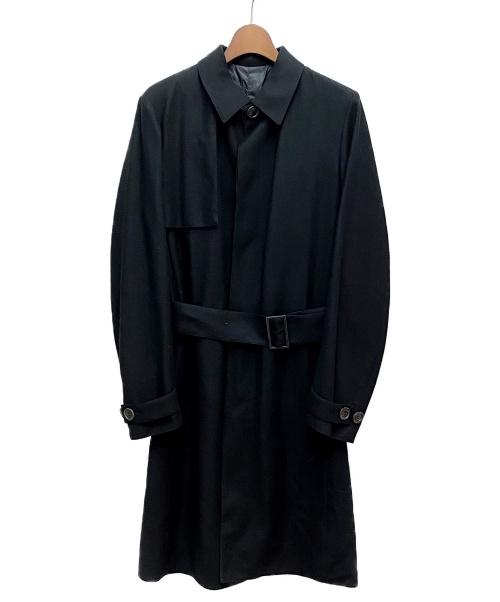 Dior Homme(ディオールオム)Dior Homme (ディオールオム) リバーシブルステンカラーコート ブラック サイズ:44の古着・服飾アイテム