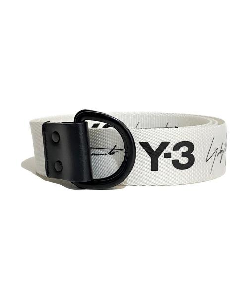 Y-3(ワイスリー)Y-3 (ワイスリー) リングベルト ホワイト サイズ:Mの古着・服飾アイテム