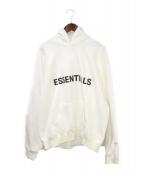 FOG ESSENTIALS(フィアオブゴット エッセンシャル)の古着「プルオーバーパーカー」|ホワイト