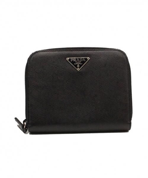 PRADA(プラダ)PRADA (プラダ) 財布 / サフィアーノ  ブラック サイズ:-の古着・服飾アイテム