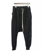 DRKSHDW(ダークシャドウ)の古着「PRISONER DRAWSTRING PANTS」|ブラック