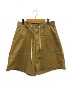LIAM HODGES(リアムホッジス)の古着「New World Shorts」|ベージュ