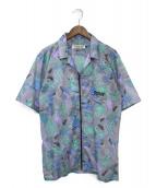 DREAMLAND SYNDICATE(ドリームランドシンジケート)の古着「ジップシャツ」|マルチカラー