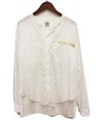 SUNSEA(サンシー)の古着「Exploration Shirt」|ホワイト
