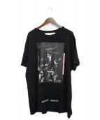 OFFWHITE(オフホワイト)の古着「18SS CARAVAGGIO Tee Shirt」|ブラック