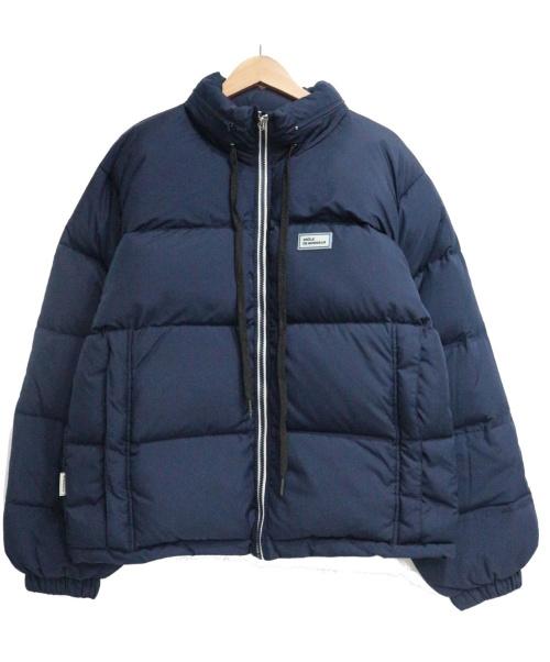 DROLE DE MONSIEUR(ドロールドムッシュ)DROLE DE MONSIEUR (ドロールドムッシュ) ダウンジャケット ネイビー サイズ:SIZE Sの古着・服飾アイテム