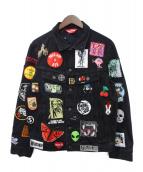 Supreme(シュプリーム)の古着「デニムジャケット」|ブラック