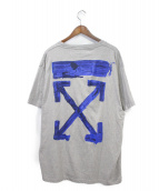 OFFWHITE(オフホワイト)の古着「19AW ACRYLIC S/S T-SHIRT」|グレー