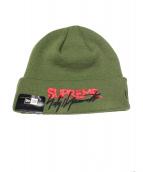 Supreme(シュプリーム)の古着「ニット帽」|グリーン