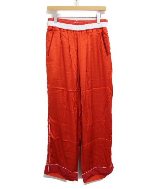 FACETASM(ファセッタズム)FACETASM (ファセッタズム) アラスカパンツ レッド サイズ:4の古着・服飾アイテム