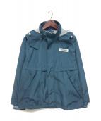 NAPAPIJRI(ナパピリ)の古着「ATY Wフーデッドジャケット」|ネイビー