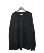 FOG ESSENTIALS(フィアオブゴット エッセンシャル)の古着「20AW 長袖Tシャツ」|ブラック