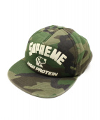 Supreme(シュプリーム)の古着「17AW High Protein 5-Panel Cap」|オリーブ