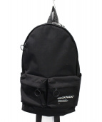 OFFWHITE(オフホワイト)の古着「18SS QUOTE BACKPACK」|ブラック