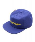 Supreme(シュプリーム)の古着「FUTURA LOGO 5-PANEL」 ネイビー