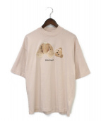 Palm Angels(パーム エンジェルス)の古着「TEDDY BEAR T-SHIRT」|ピンク