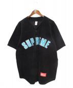 Supreme(シュプリーム)の古着「18SS Corduroy Baseball Jersey」|ブラック