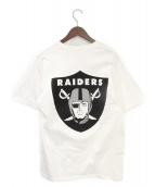Supreme(シュプリーム)の古着「NFL Raiders '47 Pocket Tee」|ホワイト