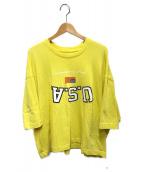 ()の古着「Tシャツ」 イエロー