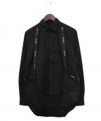 STAMPD(スタンプド)の古着「ストラップシャツ」|ブラック