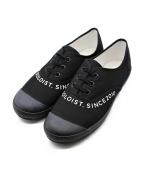 TAKAHIROMIYASHITA TheSoloIst.(タカヒロミヤシタ ザソロイスト)の古着「signature sneaker.」|ブラック