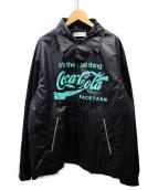 FACETASM(ファセッタズム)の古着「×coca cola コーチジャケット」 ブラック
