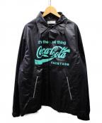 FACETASM()の古着「×coca cola コーチジャケット」 ブラック