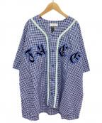 FACETASM()の古着「ベースボールシャツ」|ブルー