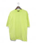 YEEZY season3(イージーシーズン3)の古着「ヘビーウェイトTシャツ」|黄緑