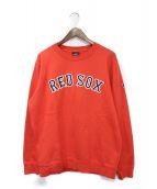 MARCELO BURLON(マルセロバーロン)の古着「REDSOXスウェット」|レッド