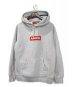 Supreme(シュプリーム)の古着「Boxlogo Hooded Sweatshirt」|グレー