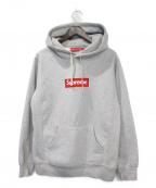 SUPREME()の古着「Boxlogo Hooded Sweatshirt」|グレー