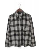 Mastermind JAPAN(マスターマインドジャパン)の古着「チェックシャツ」|グレー