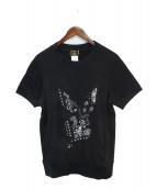 Mastermind JAPAN(マスターマインドジャパン)の古着「スウェットTシャツ」|ブラック
