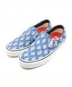 Supreme()の古着「Hole Punch Denim Slip-On Pro」|インディゴ