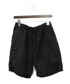 TEATORA(テアトラ)の古着「ハーフパンツ」|ブラック