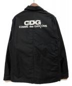 CDG(シーディージー)の古着「ワークジャケット」|ブラック