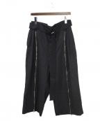 THE VIRIDI-ANNE(ザビリシアン)の古着「袴パンツ」 ブラック