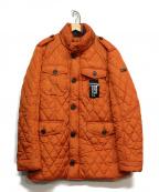 HACKETT(ハケット)の古着「中綿ジャケット」 オレンジ