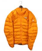 THE NORTH FACE(ザ ノース フェイス)の古着「サミットダウンジャケット」|オレンジ