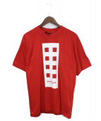 MONCLER GENIUS(モンクレール ジーニアス)の古着「Tシャツ」|レッド