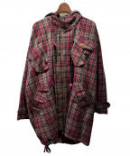 vivienne westwood MAN()の古着「20SS CHECK MODS COAT」|レッド